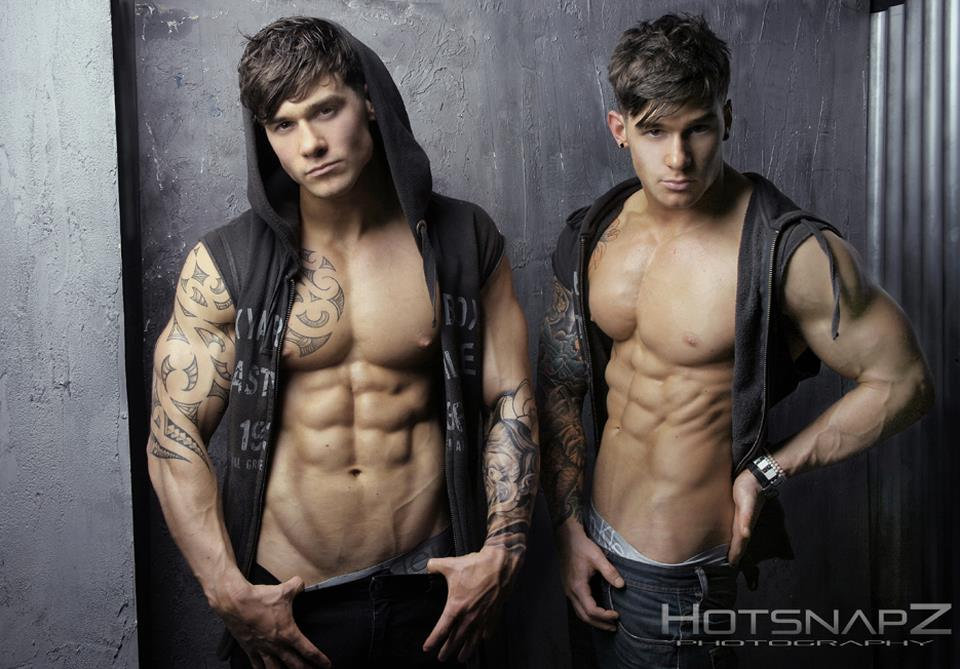 Harrison Twins Models http://men4sharing.wordpress.com/2012/03/03/harrison-twins/